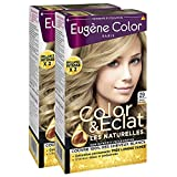Eugène Color - Les Naturelles - N°29 Blond Très Clair - Crème Colorante Permanente - Lot de 2
