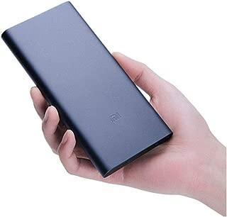 Xiaomi Mi 10000 MAh (3.Nesil) uyumlu Powerbank (Çift Girişli) Siyah