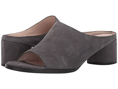 ECCO Shape 45 Block Slide (Urban Grey Cow Nubuck) Women