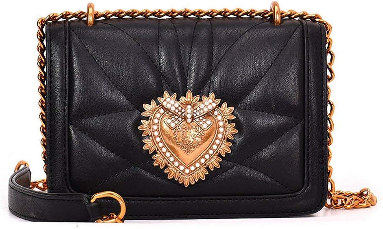 25f548a20c35d Eeayyygch Frauen Handtaschen Handtaschen Handtaschen Schultertaschen  Top-Griff Taschen Cross-Body Taschen Kunstleder (Farbe Schwarz) B07JRB5Z1H  53d726