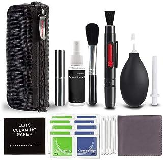 Kit de limpieza para cámaras réflex digitales con botella de spray recargable limpiador de lentes para cámaras Canon Nikon Pentax Sony DSLR