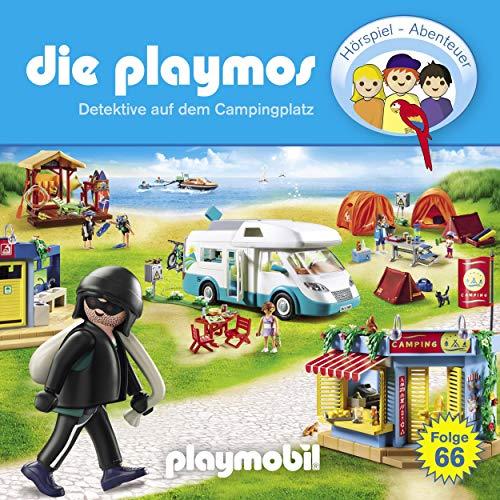 Detektive auf dem Campingplatz. Das Original Playmobil Hörspiel cover art