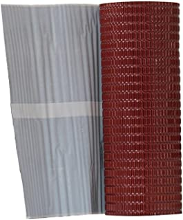 Onduline P703 Aluminum Flashing Band with Butyl Adhesive, Red