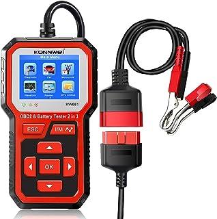 XWU Scanner OBD2, leitor de código de carro profissional, ferramenta de diagnóstico de carro, ferramenta automotiva de ver...