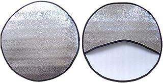 Protector Solar para Volante de Coche de di/ámetros de 37 a 39 cm Pr/áctica Funda Parasol Anti Calentamiento.