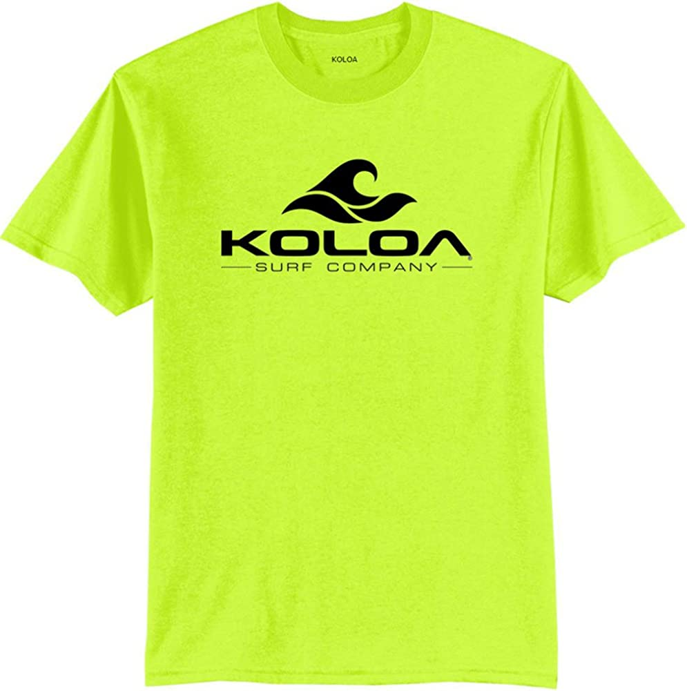 Koloa Surf Co. Wave Logo 50/50 Cotton Poly Blend T-Shirts 2X-Large Tall -2XLT