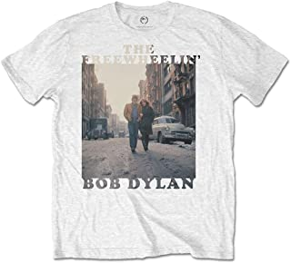 BOB DYLAN ボブディラン (生誕80周年) - The Freewheelin' / Tシャツ/メンズ 【公式/オフィシャル】