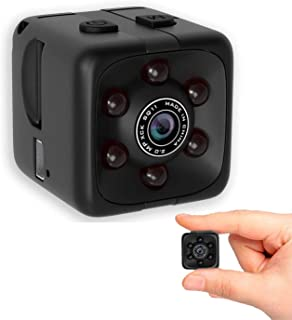 Mini Wireless 1080P Security Camera Motion Activated Small Indoor Outdoor Nanny Cam for Cars Home Apartment (Exclude SD Ca...