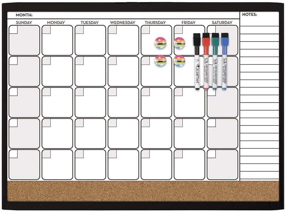 Quartet Combination Magnetic Whiteboard Cheap Corkboard Val Inexpensive Calendar