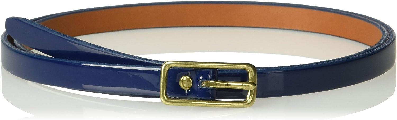 Circa Leathergoods womens Circa Women's Handcrafted Patent Leather Belt Belt