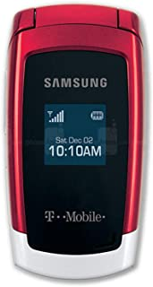 Samsung SGH-T219-S (T-Mobile) Red/Grey