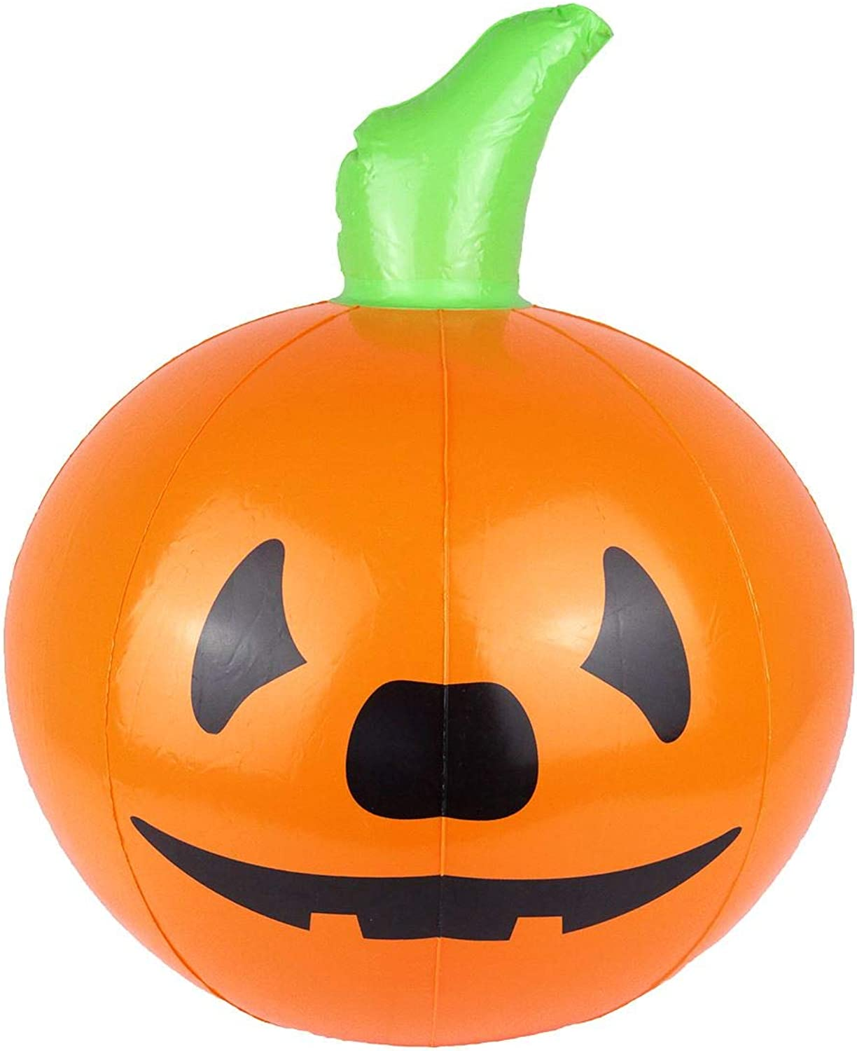 Rimi Hanger Adults Inflatable Toy Pumpkin 35cm Unisex Halloween Party Decoration Accessories One Size (Pack of 12)