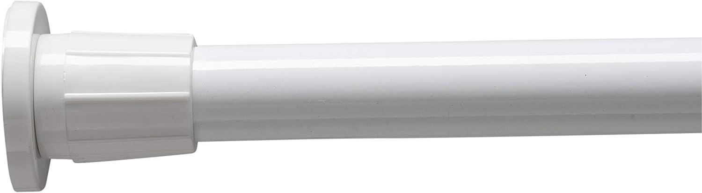 Croydex Modular 6 Modos Riel para Cortina de Ducha Color met/álico