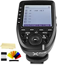 Godox XPro-N i-TTL 2.4G High-Speed Sync Wireless Flash Trigger Transmitter Compatible for Nikon Cameras, 1/8000s,11 Customizable Functions,16 Groups and 32 Channels