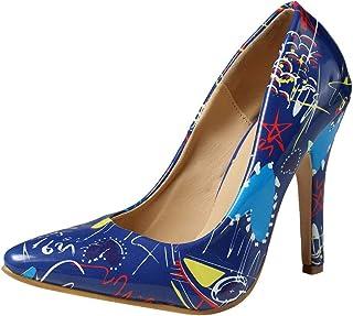 Chaussures à Talons Hauts Femmes, Manadlian Chaussures Pointues Sauvages Pointues pour Dames Escarpins Femmes Été Chaussur...