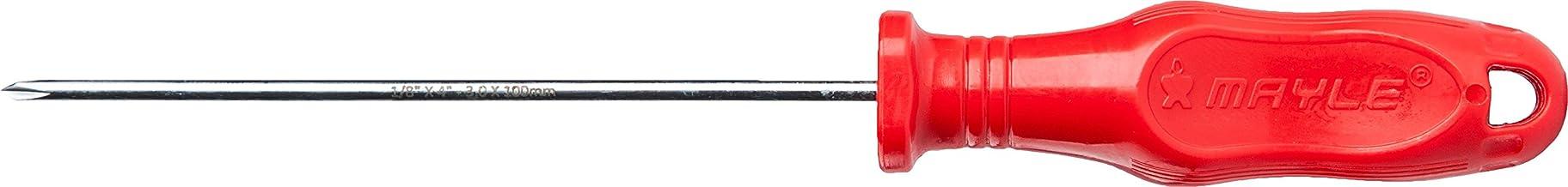 "Chave Phillips Mayle Vermelha 3/16""x4"" - 47x100mm"