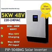 SHIJING 5000w 48vdc 230vac Inversor Solar MAX 450V PV Entrada MPPT 80A Cargador Solar + Cargador de batería 60A Paralelo Capaz