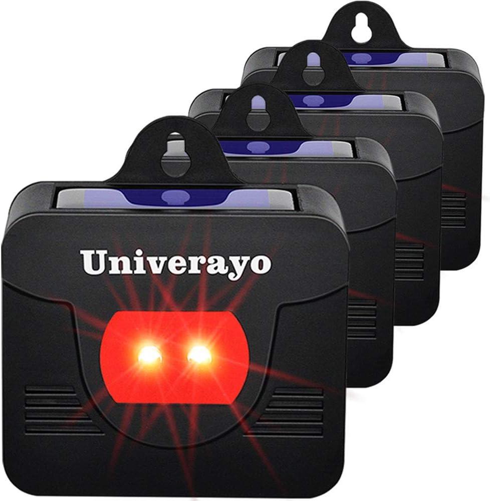 Univerayo Coyote Deterrent Skunk 2020春夏新作 Repellent Solar Contro 爆買い送料無料 Predator