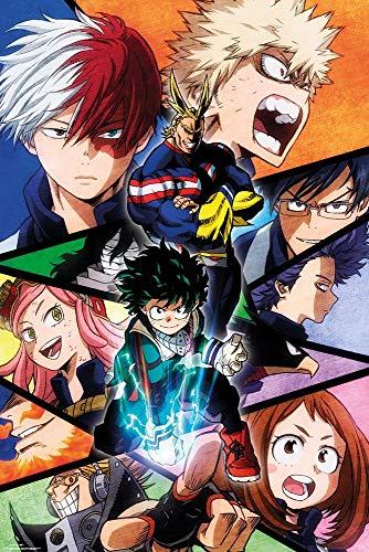 GB Eye, My Hero Academia, Grupo, Maxi Poster 61x91.5cm