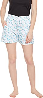 Claura Women's Cotton Printed Shorts (Pack of 1)