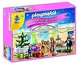 PLAYMOBIL - Calendario de Adviento Habitación de Navidad con Árbol Iluminado Juguetes y Juegos, Color Multicolor (5496)