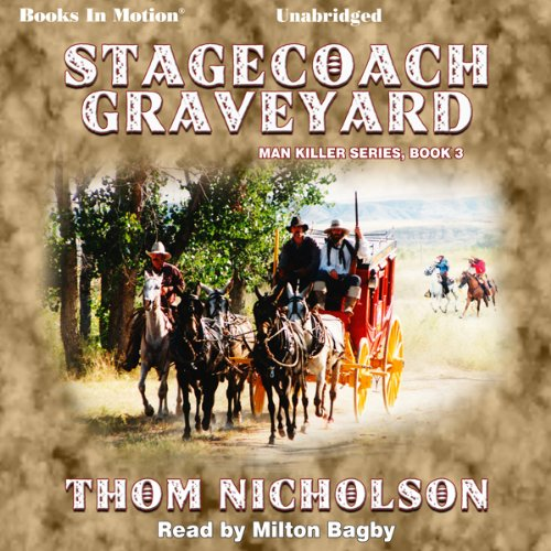 Stagecoach Graveyard audiobook cover art