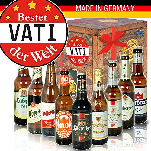 Bester Vati - Biersorten Ostdeutsch - Geburtstagsgeschenke Vati