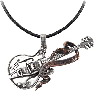 Steel Guitar Pendant by Alchemy Gothic, England