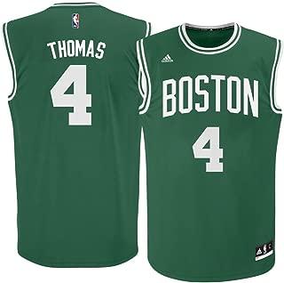 adidas Isaiah Thomas Boston Celtics Green NBA Youth Revolution 30 Replica Jersey (Medium 10/12)