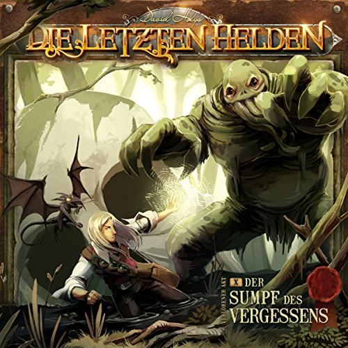 Der Sumpf des Vergessens     Die letzten Helden 10              By:                                                                                                                                 David Holy                               Narrated by:                                                                                                                                 Dietmar Wunder,                                                                                        Kim Hasper,                                                                                        Eckart Dux,                   and others                 Length: 1 hr and 25 mins     Not rated yet     Overall 0.0
