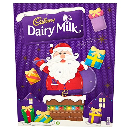 Cadbury Chocolate Advent Calendar 90 G Dairy Milk