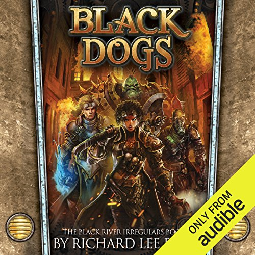 Black Dogs audiobook cover art
