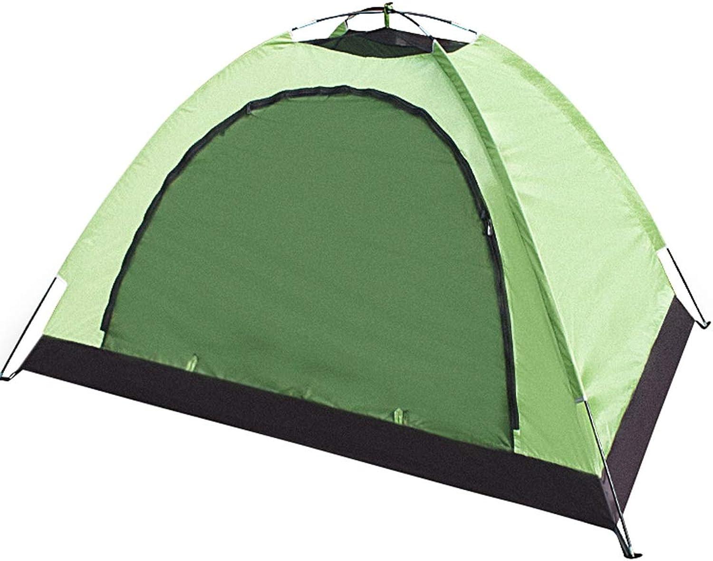 Jakiload Bergsteigen-Zelt Reise-Zelt 1-2 Personen winddichtes Sonnenschutzzelt für Outdoor-Athleten (Farbe   Grün) B07L2TT76Y  Ausgewählte Materialien