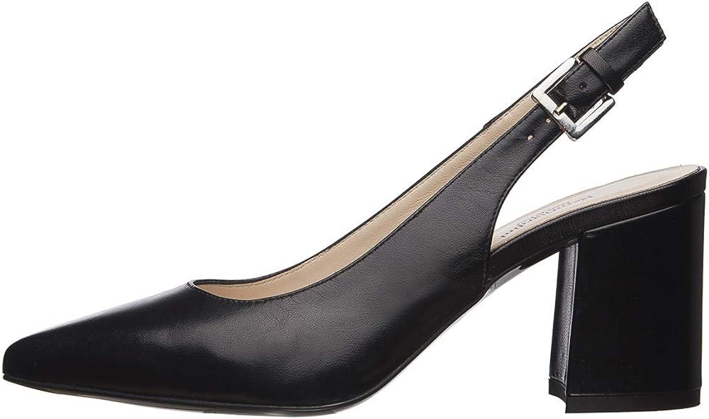 Nero giardini scarpe  sling-back donna pelle E012013DE 100