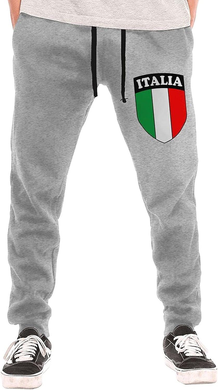 Constantyou Italia Italy Italian 1 year warranty Flag Men's Pa Sweatpants Fort Worth Mall Casual