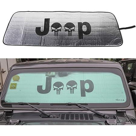 Auto Protezione Parabrezza Accessori Interni LFOTPP Wrangler JL Parasole per Parabrezza Interno