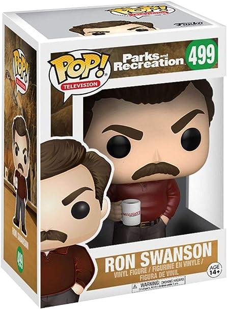 Parks & Rec Parks & Recreation Figura de vinilo Ron Swanson (Funko 13036) , color/modelo surtido