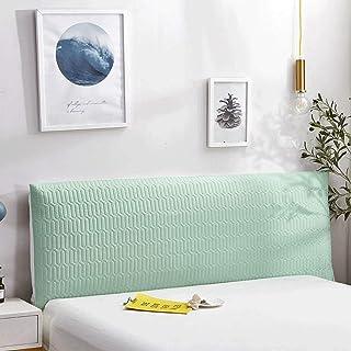 Fundas de cabecero para cama doble, individual, king y queen, elásticas, fundas nobles para cabecero de cama, protector de cabecero, alta calidad (color: H, tamaño: 220 cm)