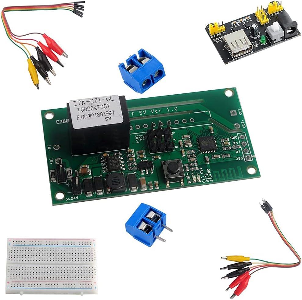 DIYmalls SV DC Max 57% OFF 5-24V Safe Low Voltage Switch Module Dedication + Bread WiFi