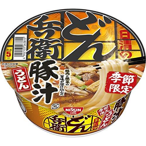 日清 どん兵衛 豚汁うどん 98g ×12個
