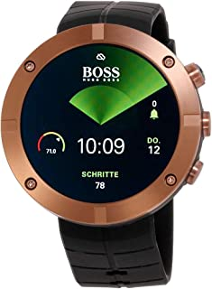 Kailash Copper Black Dial Silicone Strap Unisex Watch SS021815000