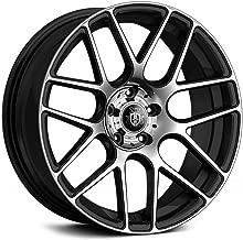 Curva Concept Wheels C7: 18x9.0, 5x120, 72.6, 35, (Black/MF)