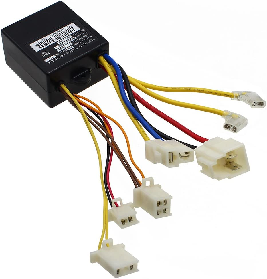 24V Control Module 7 Connectors New item 4-Wire for Fits Save money Throttle Razo