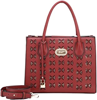 Verona H /& L New Womens Facile Florence Vegan Leather Carry-On