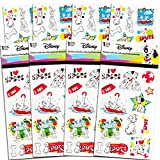 Disney 101 Dalmatians Stickers Party Favors Set ~ Bundle Includes Over 100 Dalmatians Stickers Featuring Pongo, Perdita, and Other Favorite Spotted Pups (101 Dalmatians Party Supplies)