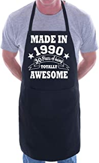 Made In 1989 BBQ Cooking Apron for Adults, 4 Colours