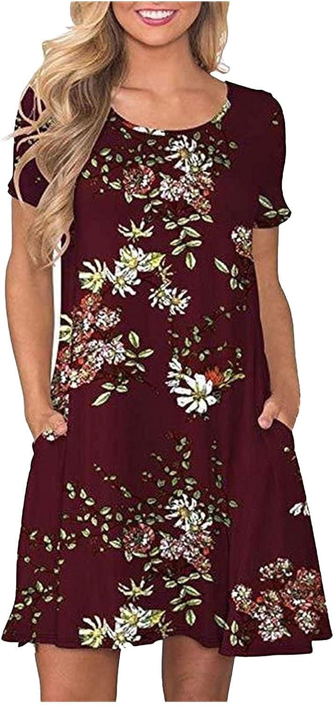 Smooto Women Summer Dress Loose Personality Dresses Irregular Long Sleeve Dress