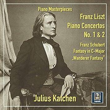 Liszt: Piano Concertos Nos. 1 & 2 – Schubert: Fantasie in C Major, Op. 15, D. 760