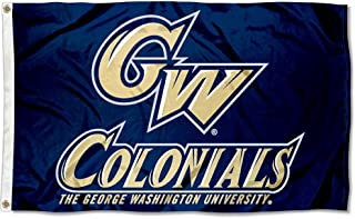 George Washington Colonials GW University Large College Flag