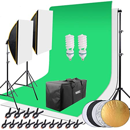 Hakutatz Profi Fotostudio Set Studioleuchte Studiosets Kamera